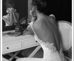She and the dress …